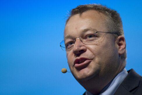 Nokia Oyj CEO Stephen Elop