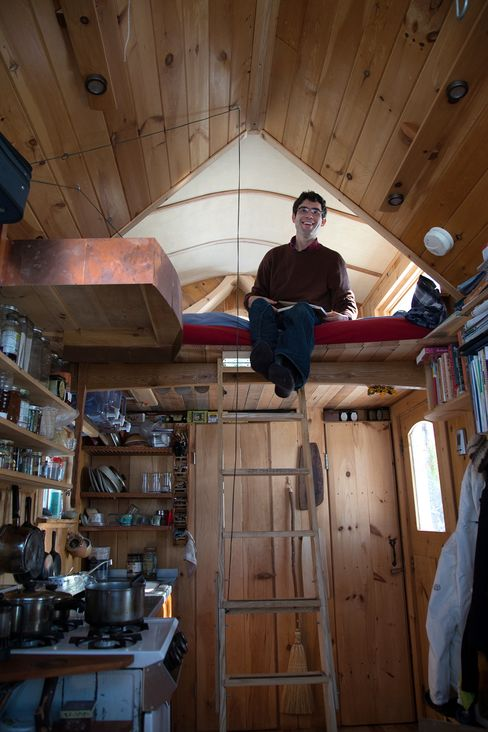 Aldo Lavaggi said that thanks to his tiny house, he