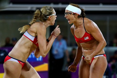 U.S. Beach Volleyball Pair Wins Third Straight Olympic Title