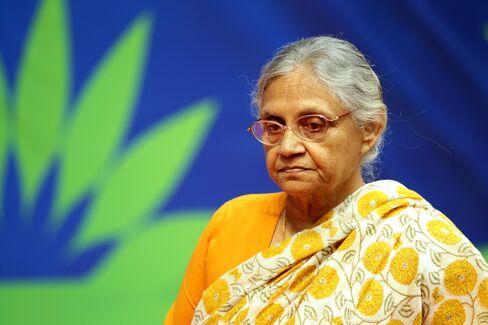 Chief Minister of Delhi, Sheila Dikshit