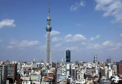 World's Tallest Tower to Open as Tokyo Railways Target Shoppers