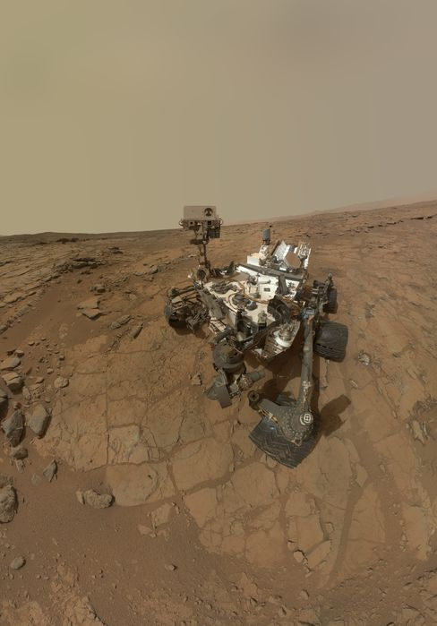 NASA Says Mars Rover Finds Conditions Once Suited for Life