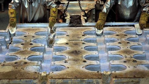 Alcoa Outlook Revised to Negative by S&P on Aluminum Price Drop