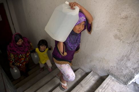 Water Rationing in Malaysia