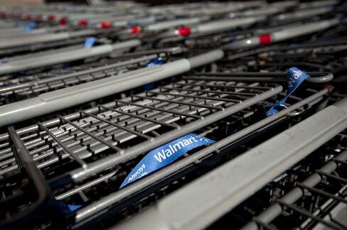 Wal-Mart Bonds Fly Off Shelf as Shoppers Stew