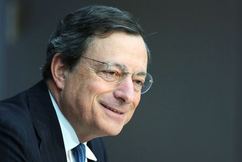 Draghi Told Parliament ECB Must Buy Bonds for Euro's Survival