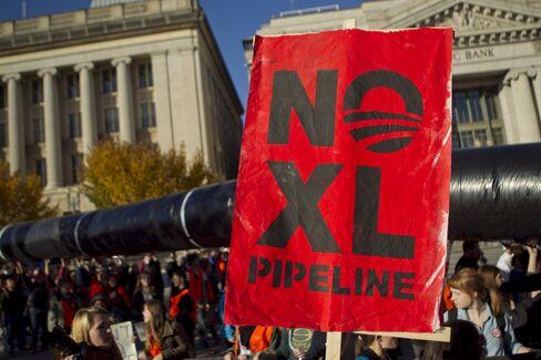 Keystone XL Oil Pipeline Demonstration