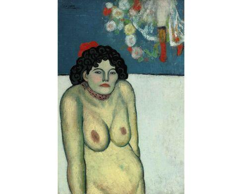 Pablo Picasso, La Gommeuse, 1901