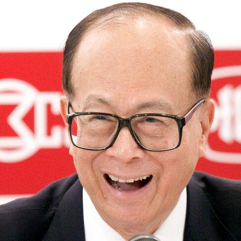 Li Ka-shing, chairman of Hutchison Whampoa