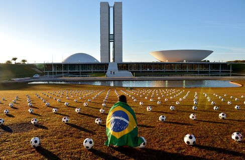 Brazil's Rousseff May Skip Cup Final as Her Popularity Sinks