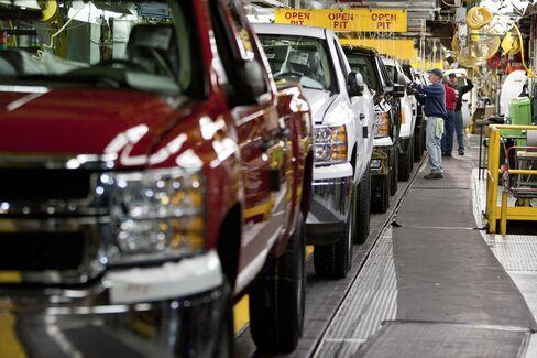 Auto Plants at Capacity Buoying All Parts of U.S. Economy