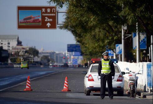 Tiananmen Square Crash