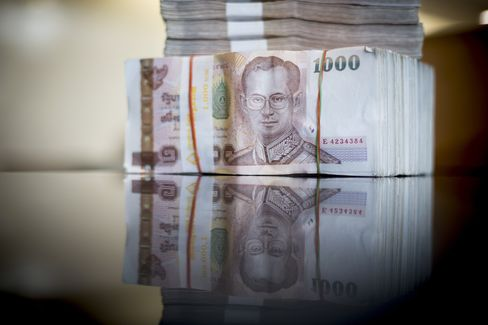 Baht in Worst Week Since 2008 on Controls Risk