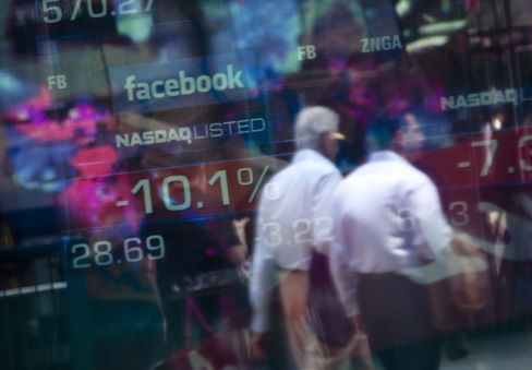Facebook Is Biggest Short-Seller Target Among Large U.S. Stocks