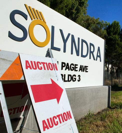 Solyndra Auction