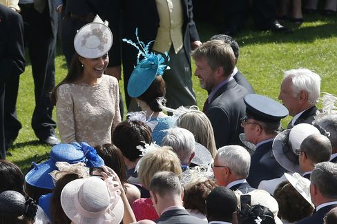 Duchess of Cambridge at the Buckingham Palace Garden Party