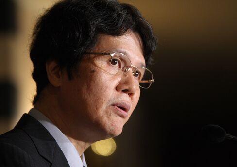Kiyohiko Nishimura, deputy governor of the Bank of Japan