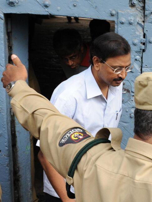 Satyam Computer Services founder Ramalinga Raju