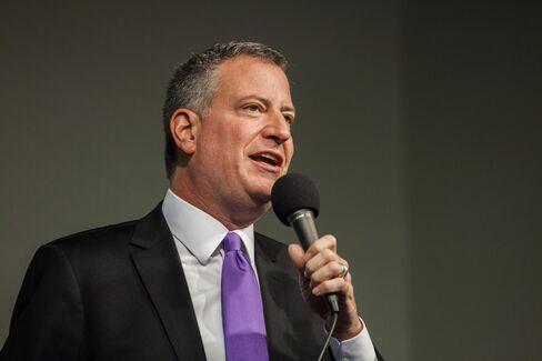 New York Mayor-Elect Bill de Blasio