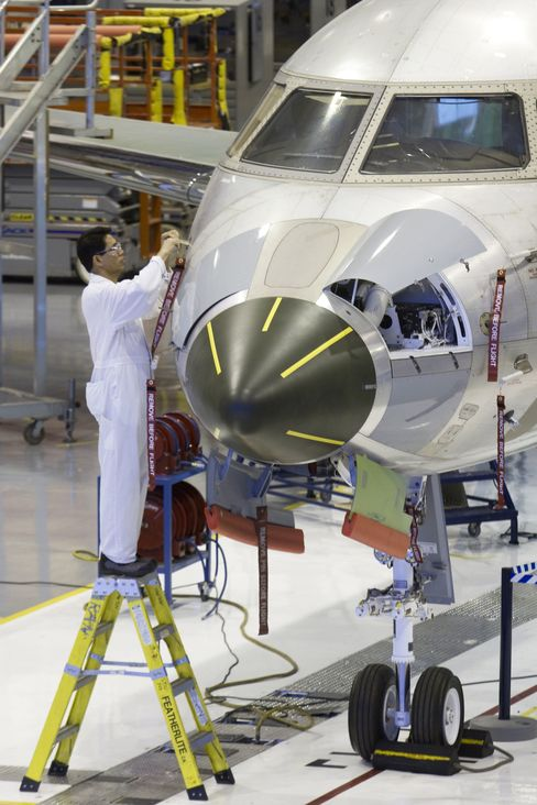 Bombardier Business Jets Show Bigger Is Better