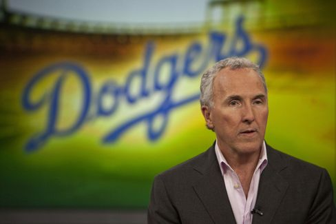 Los Angeles Dodgers Owner Frank McCourt
