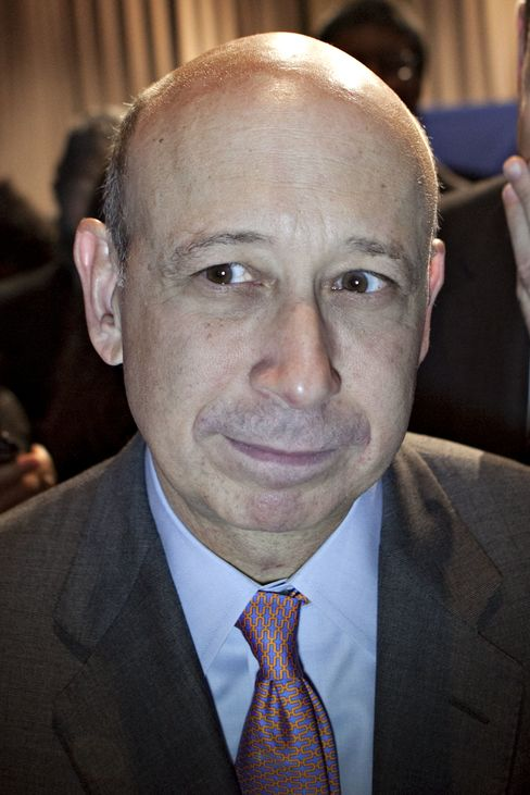 Lloyd C. Blankfein, CEO of Goldman Sachs Group Inc.