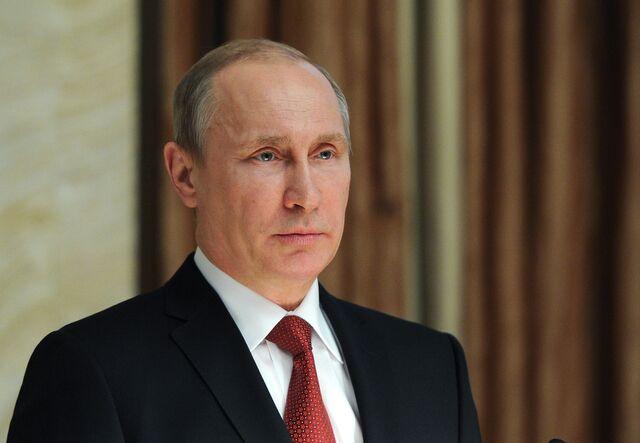 Photographer: Mikhail Klimentyev/AFP/Getty Images