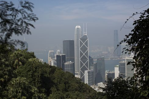 Hong Kong's Central Rents to Extend Decline as Banks Cut Costs