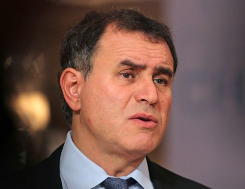Roubini Says High Probability of Another U.S. Recession