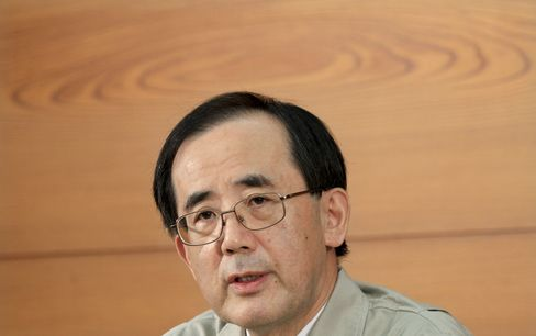 Bank of Japan Governor Masaaki Shirakawa