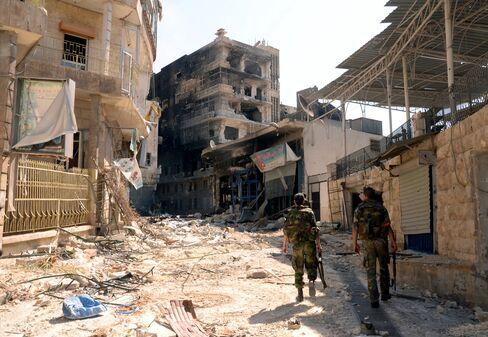 Syria Shells Aleppo, Daraa as Rebels Push to Control Capital