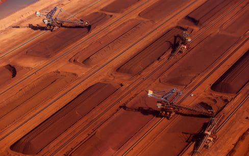 Fortescue Metals Group iron ore facility