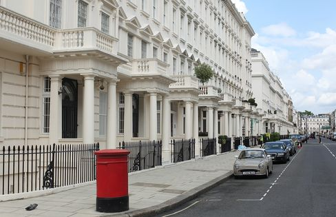 London Luxury-Home Prices Rise