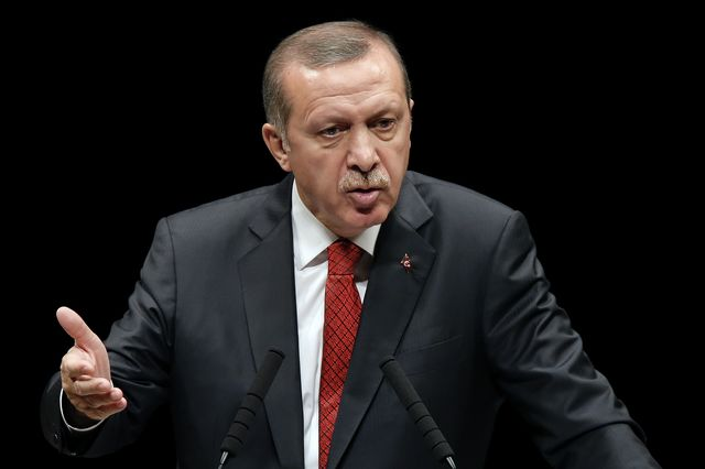 Recep Tayyip Erdogan is undermining his own country with crackdowns on social media users. Photographer: Kiyoshi Ota/Bloomberg