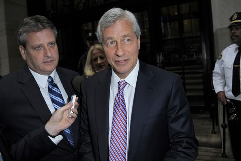 Dimon Fortress Breached as Push From Hedging to Betting Blows Up