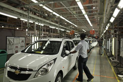 India Belies Ford-GM Comeback With Combined Share of 6.5%