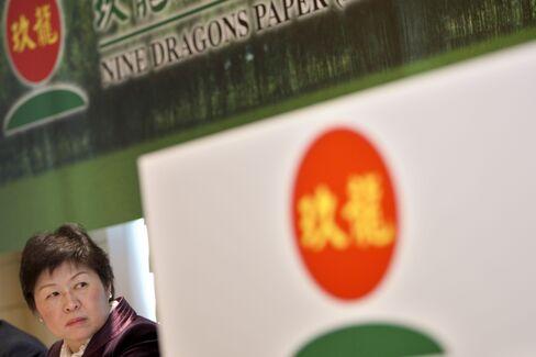 Nine Dragons Paper Holdings Ltd. Chairwoman Zhang Yin