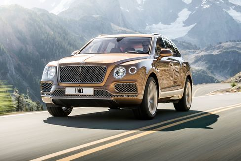 Bentley is calling its W-12 SUV the most powerful, most luxurious ever made.