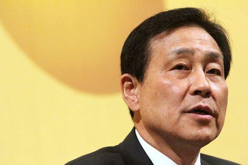 Hana Financial Group Chairman Kim Jung Tai