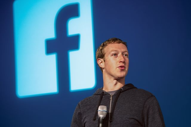 It's hard to picture Mark Zuckerbergin bankers' pinstripes.Photographer: David Paul Morris/Bloomberg