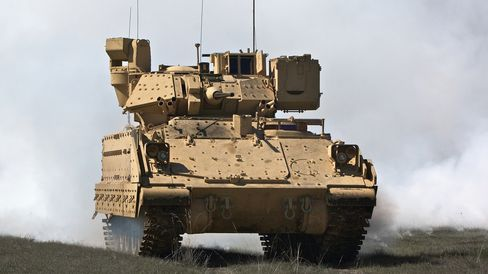 Detroit 54.5 MPG Mandate Gets Help From U.S. Army's Tanks
