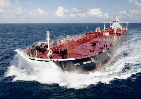 A Frontline Ltd. supertanker