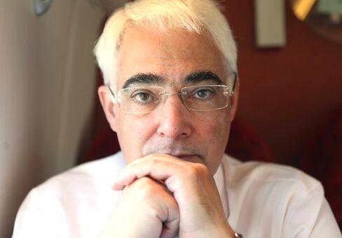 Former U.K. Chancellor Alistair Darling
