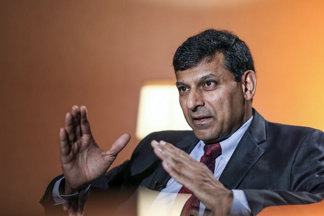 Raghuram Rajan, reformer-in-waiting. Photographer: Dhiraj Singh/Bloomberg