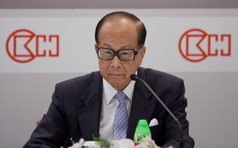 Cheung Kong Chairman Li Ka-shing