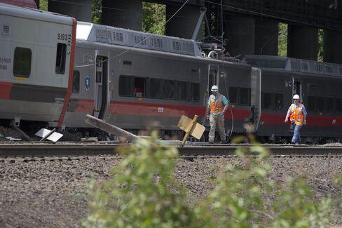 Connecticut Train Crash Rips Up Lines, Hampers Rail Traffic