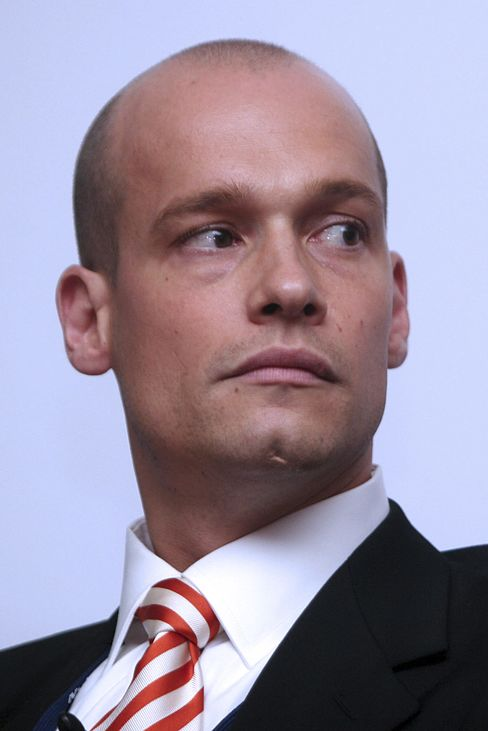 UBS AG's Head of European Debt Syndicate Armin Peter