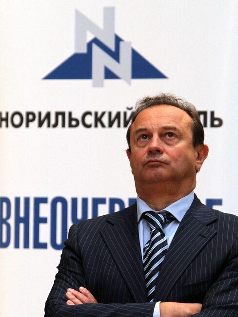 Norilsk CEO Vladimir Strzhalkovsky