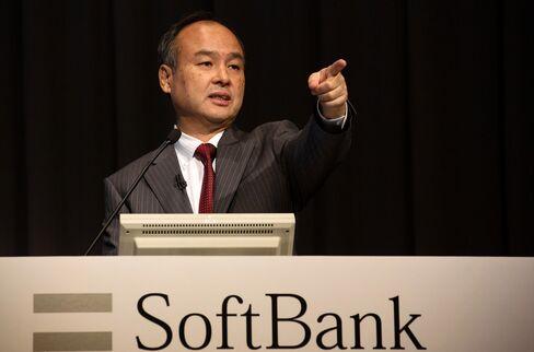 SoftBank Corp CEO Masayoshi Son