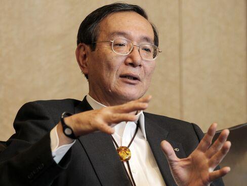 NTT President Hiroo Unoura